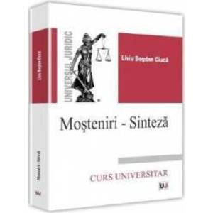 Mosteniri-Sinteza - Liviu Bogdan Ciuca imagine