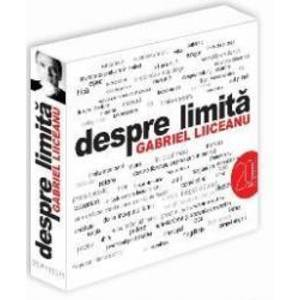 Audiobook CD - Despre Limita - Gabriel Liiceanu imagine