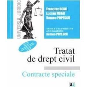 Tratat de drept civil. Contracte speciale Vol.3 Depozitul. Imprumutul Ed.5 - Francisc Deak imagine