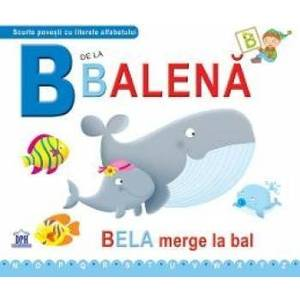 B de la Balena - Bela merge la bal cartonat imagine