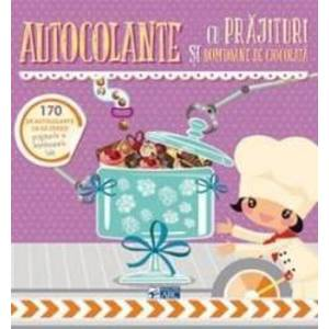 Autocolante cu prajituri si bomboane de ciocolata imagine