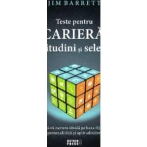 Teste pentru cariera aptitudini si selectie - Jim Barrett imagine
