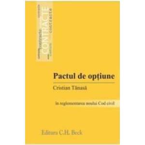 Pactul de optiune - Cristian Tanasa imagine