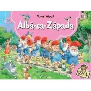 Alba-ca-Zapada. Carte Pop-up - Tony Wolf imagine