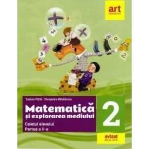 Matematica si explorarea mediului - Clasa 2 - Manual - Tudora Pitila, Cleopatra Mihailescu imagine