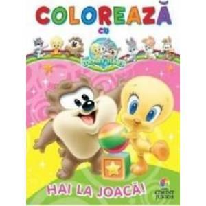 Coloreaza cu Baby Looney Tunes Hai la joaca imagine