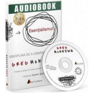 Audiobook Esentialismul - Greg McKeown imagine