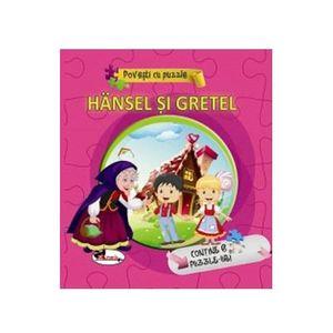 Povesti cu puzzle - Hansel si Gretel | imagine
