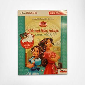 Elena din Avalor - Cele mai bune surori - caiet de activitati   Disney imagine