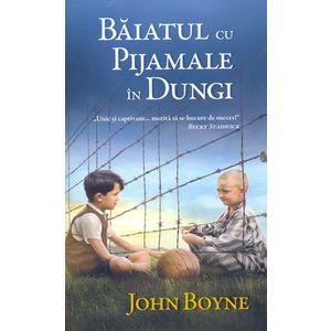 Baiatul cu pijamale in dungi   John Boyne imagine