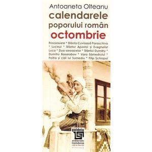 Calendarele poporului roman - Octombrie   Antoaneta Olteanu imagine