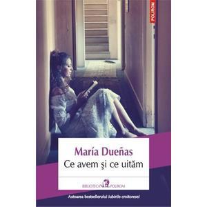 Ce avem si ce uitam   Maria Duenas imagine