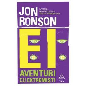 Ei: Aventuri cu extremisti   Jon Ronson imagine