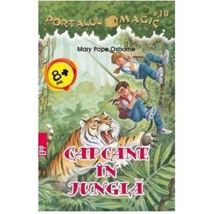 Capcane in jungla. Portalul Magic nr. 19 | Mary Pope Osborne imagine