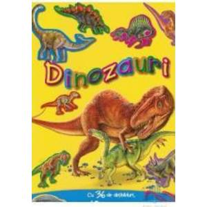 Dinozauri cu abtibilduri imagine