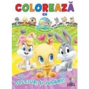 Coloreaza cu Baby Looney Tunes Dulciuri si jucarii imagine