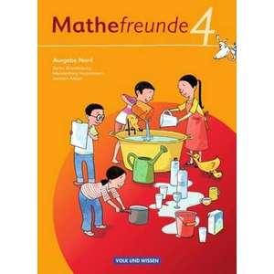 Mathefreunde 4. Schuljahr. Schuelerbuch mit Kartonbeilagen. Nord imagine