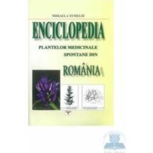 Enciclopedia plantelor medicinale spontane din Romania - Mihaela Temelie imagine
