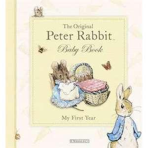 The Original Peter Rabbit Baby Book imagine