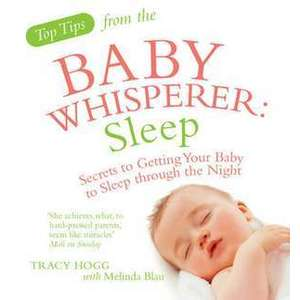 Top Tips from the Baby Whisperer: Sleep imagine