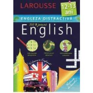LAROUSSE. Engleza distractica 12-13 ani imagine