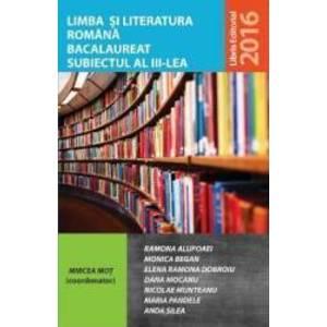 Limba si literatura romana bacalaureat subiectul 3 - Mircea Mot coord imagine