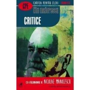 Critice - Titu Maiorescu imagine