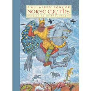 Illustrated Norse myths imagine