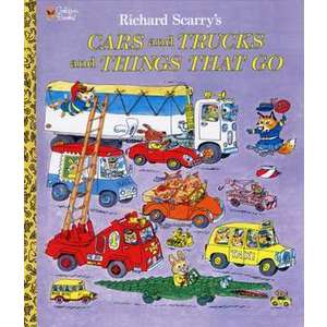 Richard Scarry's Cars and Trucks and Things That Go imagine