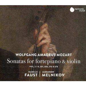 Wolfgang Amadeus Mozart: Sonatas For Fortepiano & Violin   Isabelle Faust, Alexander Melnikov imagine