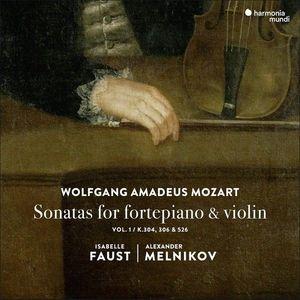 Sonatas For Fortepiano & Violin   Wolfgang Amadeus Mozart, Isabelle Faust, Alexander Melnikov imagine