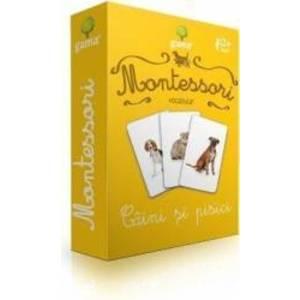Montessori - Vocabular Caini si pisici imagine
