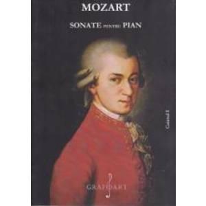 Sonate pentru pian caietul I - Mozart imagine
