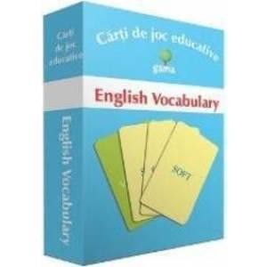 English Vocabulary - Carti de joc educative imagine