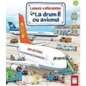 La drum cu avionul imagine