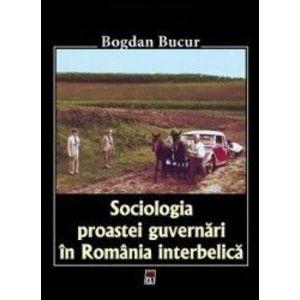 Sociologia proastei guvernari in Romania Interbelica imagine