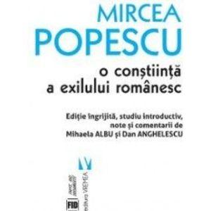 Mircea Popescu, o conștiinţă a exilului românesc imagine