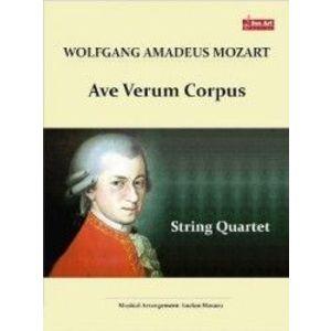 Ave Verum Corpus. Pentru Cvartet de coarde - Wolfgang Amadeus Mozart imagine