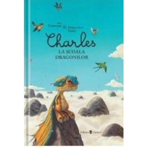 Charles la școala dragonilor imagine