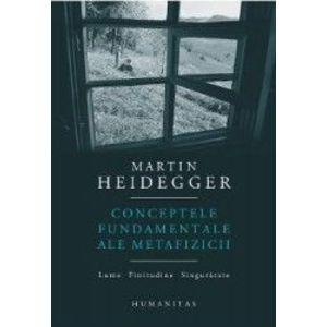 Conceptele fundamentale ale metafizicii imagine
