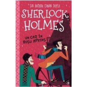 Sherlock Holmes - Un caz In rosu aprins imagine