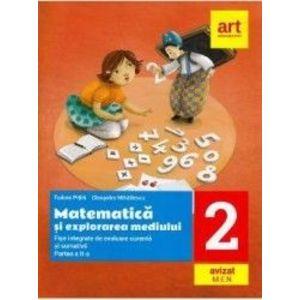 Matematica si explorarea mediului - Clasa 2. Partea 1 - Tudora Pitila Cleopatra Mihailescu imagine