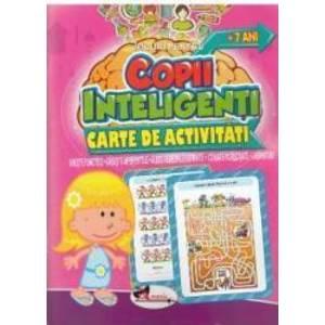 Jocuri pentru copii inteligenti. Carte de activitati +7 ani imagine