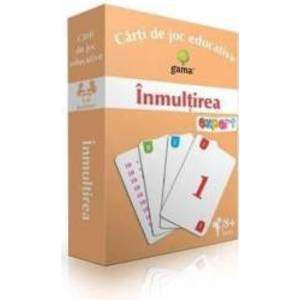 Inmultirea - Carti de joc educative imagine