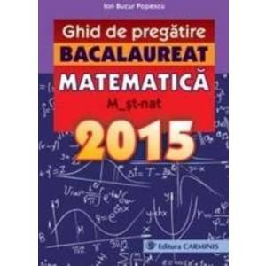 Bacalaureat 2015. Matematica imagine