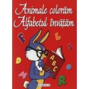 Animale coloram. Alfabetul invatam imagine