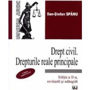 Drept civil. Drepturi reale principale Ed. 2 - Dan-Stefan Spanu imagine