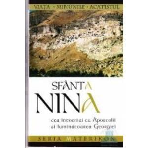 Sfanta Nina Cea intocmai cu Apostolii si luminatoarea Georgiei imagine