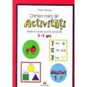 Cartea mea de activitati 2-3 ani imagine
