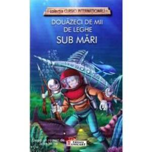 Douazeci de mii de leghe sub mari - Jules Verne imagine